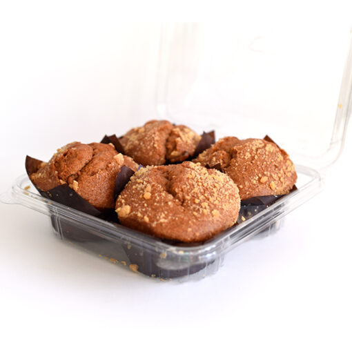 Large Apple Muffins in package