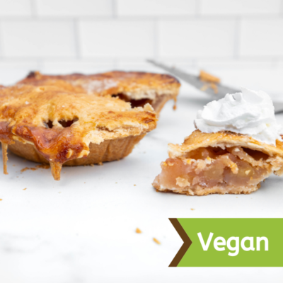 Natural Vegan 9 Apple Pie