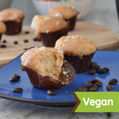 Vegan Coffee Mini Muffins