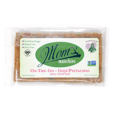 Goji Berry Pistachio Bar